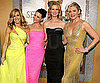 Slide Picture of Sarah Jessica Parker, Kristin Davis, Cynthia Nixon and Kim Cattrall at Sex and the City 2 Premiere