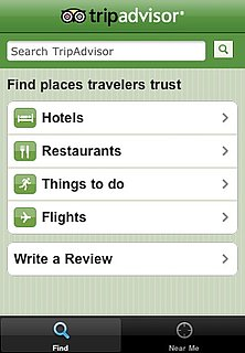 New Tripadvisor iPhone App