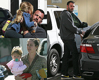 Pictures of Ben Affleck Out in LA With Daughters Violet and Seraphina