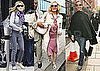 Pictures of Sarah Jessica Parker, Kim Cattrall And Kristin Davis in London Ahead of The Sex And The City 2 Premiere There