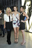 Rachel Zoe, Katharine McPhee (in an AX Silk Halter Romper ($130), and Jamie-Lynn Sigler snapped together.