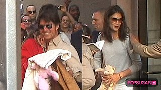 Video of Tom Cruise With Katie Holmes and Suri