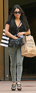 Vanessa Hudgens Wears J Brand Cargo Pants in LA