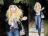 Pictures of Lindsay Lohan Partying Late Night in LA With Her SCRAM Bracelet