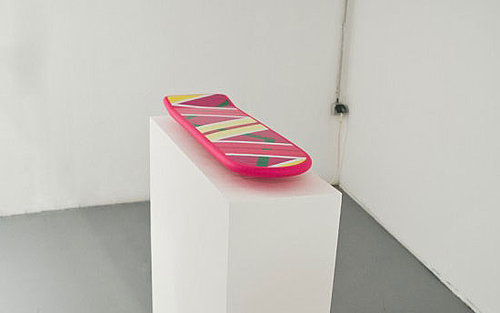 Real Hoverboard Floats on Magnets