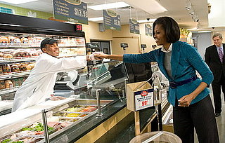 First Lady Readies Chefs Move to Schools Program