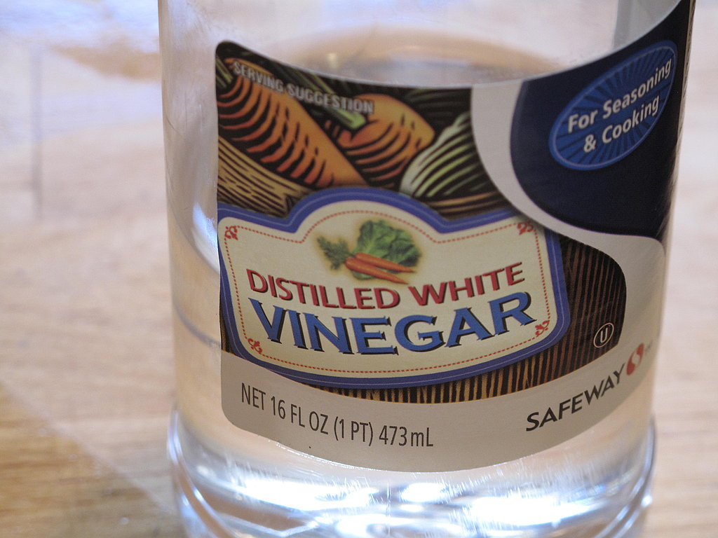 Don't forget the vinegar.
