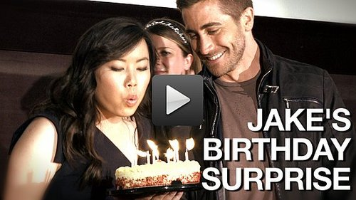 Jake Gyllenhaal Shares Shirtless Secrets and Makes Birthday Dreams Come True: I'm a Huge Fan! Part 3