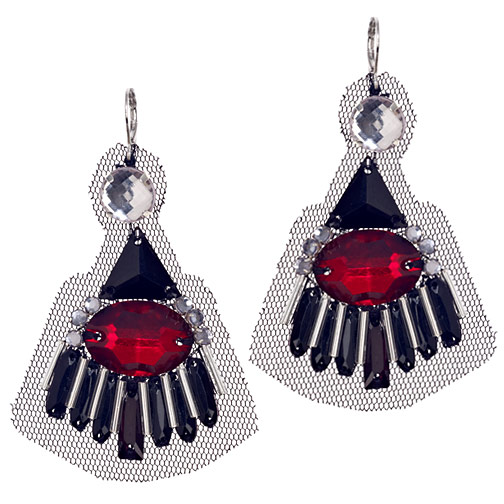Suzanna Dai Deco Fan Earrings ($87)
