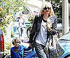 Slide Picture of Gwen Stefani and Kingston Rossdale in LA