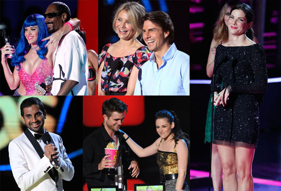 Pictures of Whitney Port, Paris Hilton, Anna Kendrick, Kristen Stewart, Lindsay Lohan on MTV Movie Awards Red Carpet