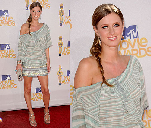 Nicky Hilton at 2010 MTV Movie Awards 2010-06-06 17:30:21