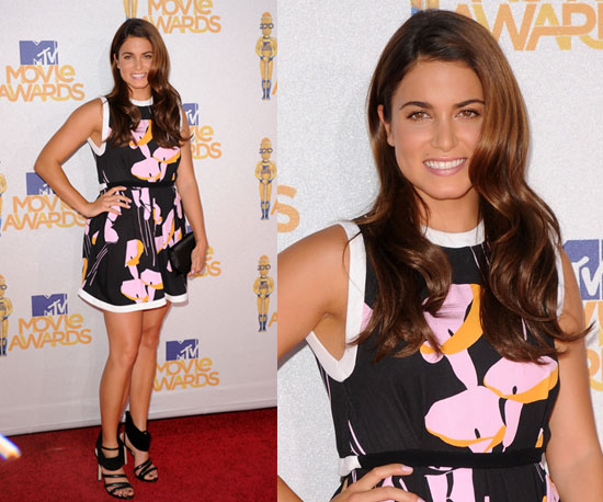 Nikki Reed at 2010 MTV Movie Awards 2010-06-06 17:37:48