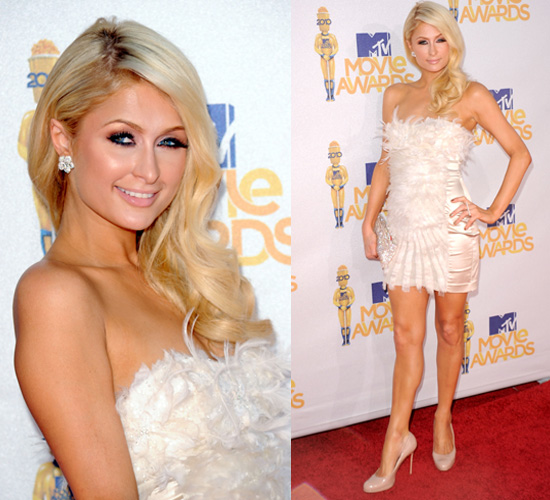 Paris Hilton at 2010 MTV Movie Awards 2010-06-06 17:40:03