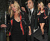 Pictures of Kate Moss Partying at The Ivy After Getting Topless Nearly Nude on Holiday in St Bart's