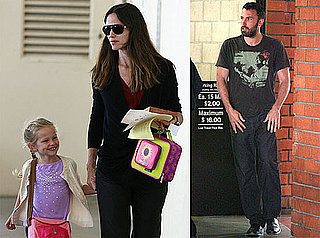Pictures of Jennifer Garner, Ben Affleck, and Seraphina Affleck in LA