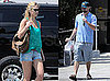 Pictures of Leonardo DiCaprio and Bar Refaeli Shopping Together in LA