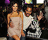Slide Picture of Eva Longoria and Tony Parker at Birthday Party at Crystals in Las Vegas