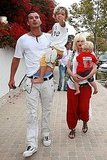 Pictures of Gwen Stefani and Family in Malibu