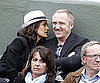 Slide Picture of Salma Hayek and Francois-Henri Pinault at French Open