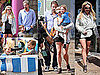 Photos of Britney Spears, Sean Preston Spears Federline, Jayden James Spears Federline And Jason Trawick at Santa Monic Pier