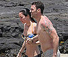 Slide Picture of Megan Fox in Bikini and Brian Austin Green Shirtless in Hawaii