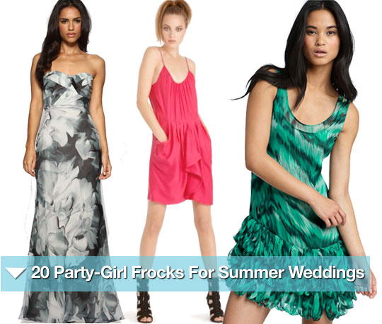 20 Party-Girl Frocks For Summer Weddings