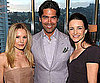 Slide Picture of Kristen Bell and Kristin Davis at Brian Atwood Event in LA