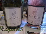 I enjoyed sipping the wines of Elk Cove, especially their refreshing Pinot Gris.