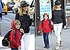 Pictures of Sarah Jessica Parker Bringing Son James Wilkie to School in NYC