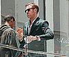 Slide Picture of Ryan Gosling Filming in LA