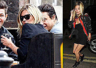 Pictures of Kate Moss Spending Time With Friends in London
