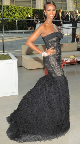 Iman at 2010 CFDA Awards