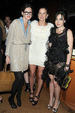 Jenna Lyons, Amanda Brooks, Fabiola Beracasa Photo courtesy the CFDA