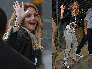 Pictures of Drew Barrymore Leaving The Jimmy Kimmel Show