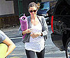 Slide Picture of Jessica Biel Going to Yoga in New York