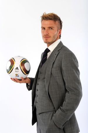 2010 World Cup Start Time and Picture of David Beckham in a Suit