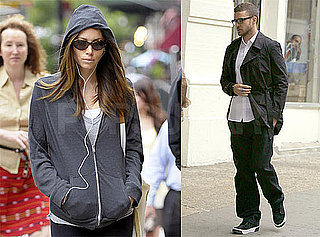 Pictures of Justin Timberlake and Jessica Biel in NYC
