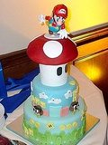 Mario is missing something . . . his bride!   Source: Flickr User bfurlong