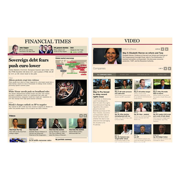 Financial Times for iPad (Free)