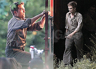 Pictures of Robert Pattinson Filming Water For Elephants 2010-06-10 06:30:00