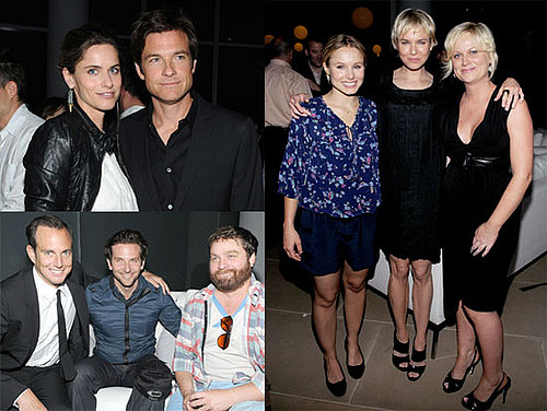 Pictures of Amanda Peet, Kristen Bell, Renée Zellweger, Bradley Cooper, Jason Bateman, and Amy Poehler at the Launch of DumbDumb 2010-06-14 16:30:59