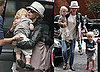 Pictures of Naomi Watts with Sam and Sasha in New York