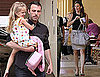 Pictures of Ben Affleck, Violet Affleck and Jennifer Garner in LA
