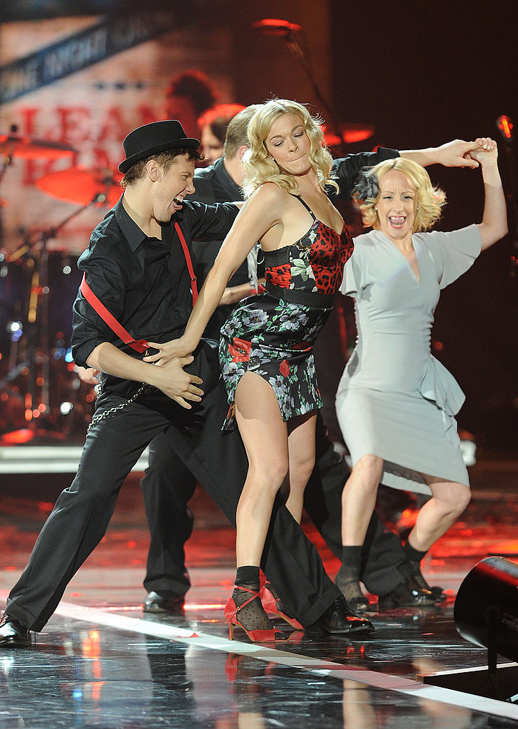 LeAnn Rimes working it in Dolce & Gabbana.