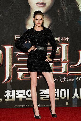 Kristen Stewart admits she's a fan of fame