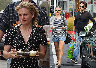 Pictures of Anna Paquin and Stephen Moyer Shopping in LA