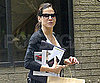 Slide Picture of Sandra Bullock Leaving Her Office in Austin
