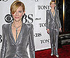 Photos of Cate Blanchett at the 2010 Tony Awards in a Silver Suit