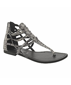 new look snake gladiator sandals